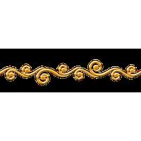 200x200 Download Decorative Line Gold Png Clipart Hq Png Image Freepngimg