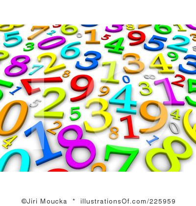400x420 Fancy Numbers Clipart Free Clip Art Numbers Images