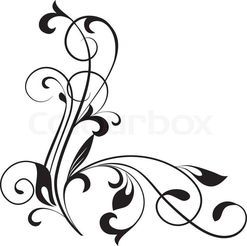 800x797 Czeshop Images Fancy Scroll Design Vector