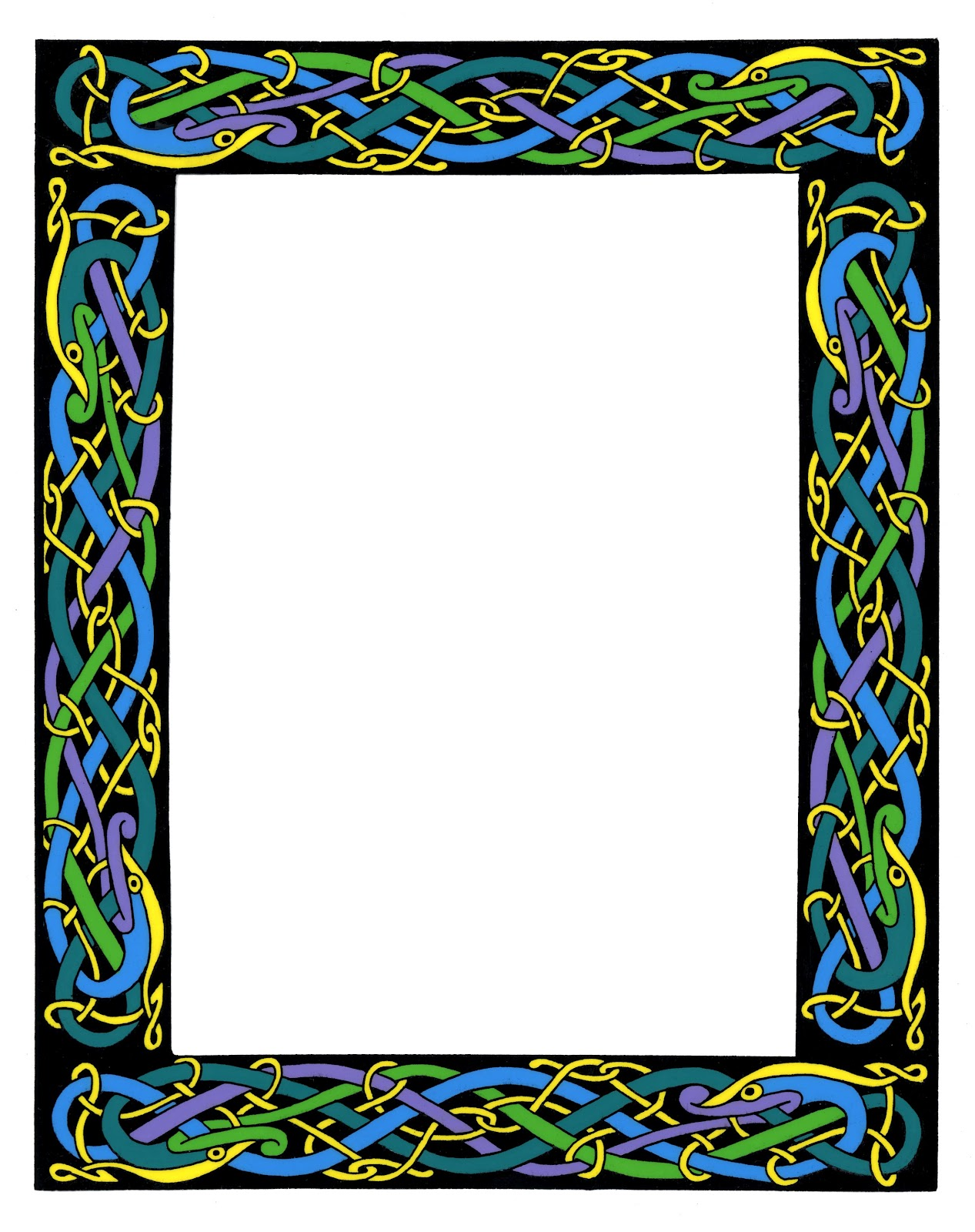 1267x1600 Wiccan Clipart Fancy Scroll