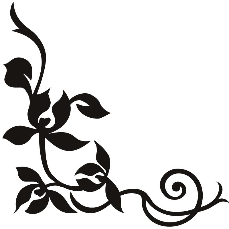 800x800 Floral Swirl