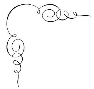 320x304 Corner Scroll Clip Art