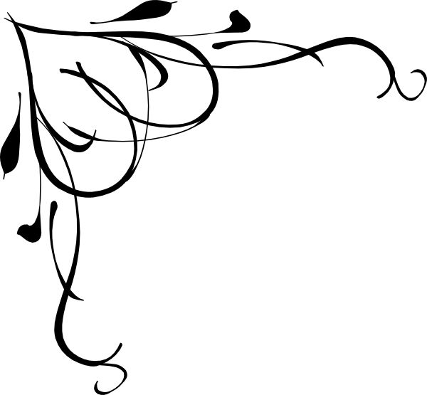 600x555 Fancy Squiggly Lines Clipart 4