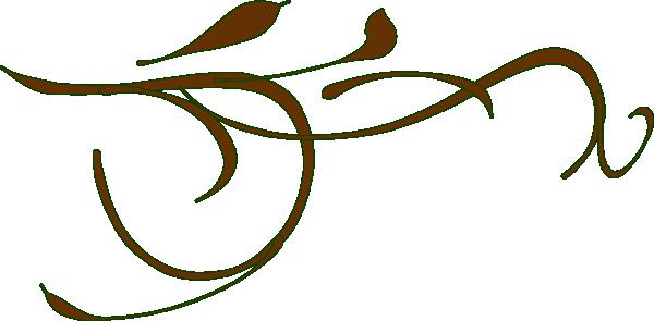 600x295 Decorative Lines Clip Art Free