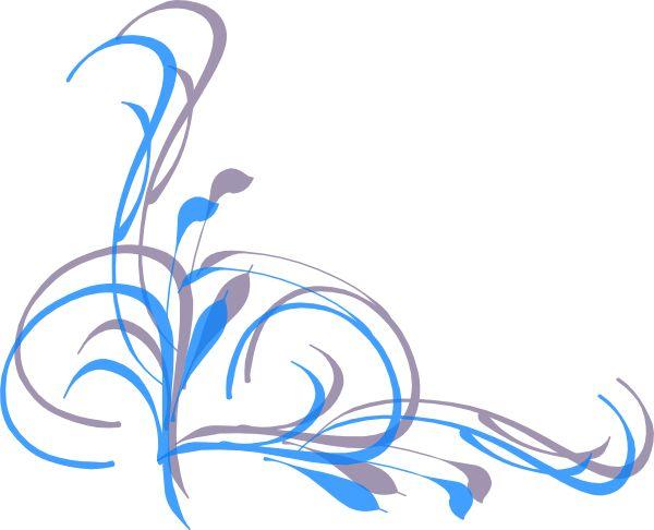 600x486 Fancy Border Clip Art Swirl Swirl
