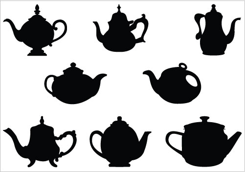 Fancy Teacup Clipart