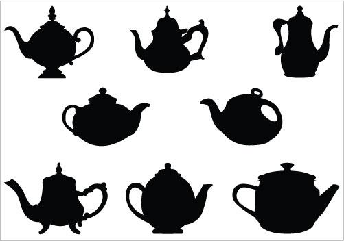 501x352 Alice In Wonderland Clipart Teapot