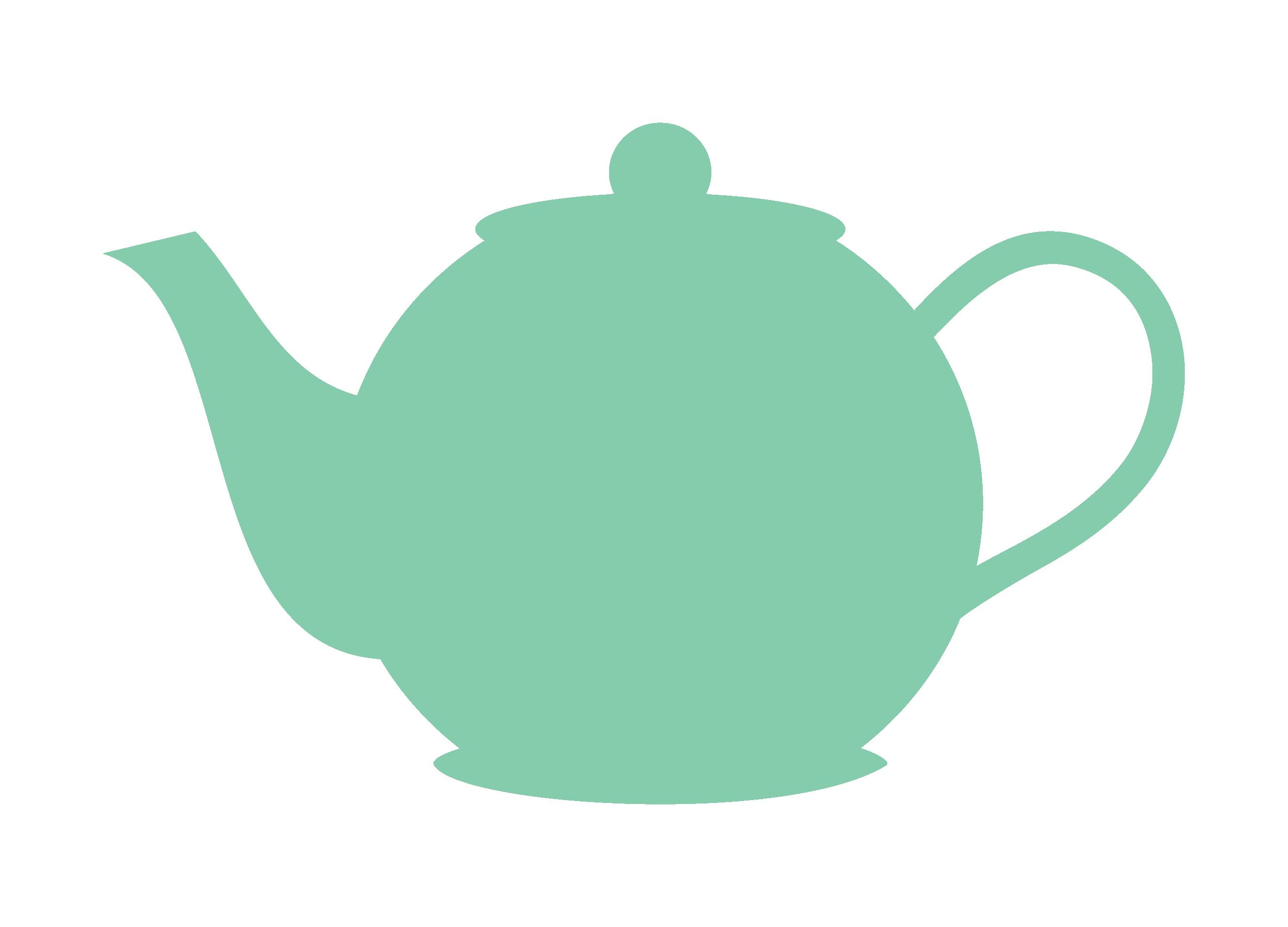 2658x1914 Teapot Clip Art Outline Free Clipart Images
