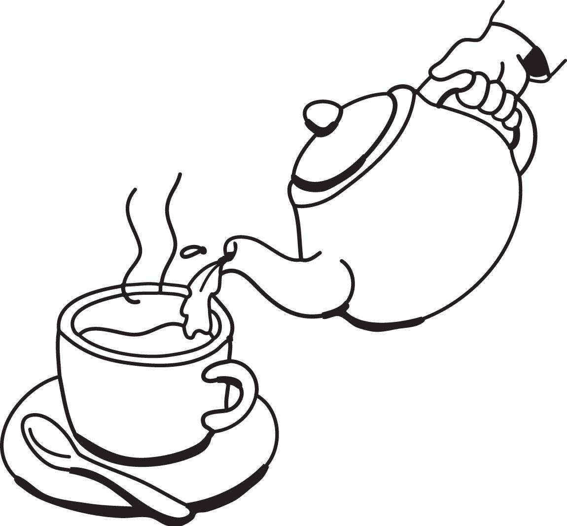 1150x1067 Teapot Fancy Teacup Clip Art Free Clipart Images 2