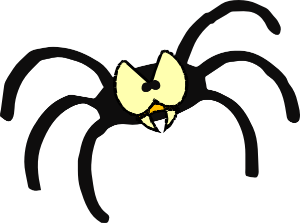 600x445 Spider Fangs Clipart