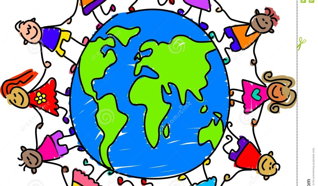 1024x600 World Map Clip Art