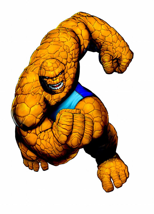 515x718 Fantastic Four Rock Guy Clip Art Cliparts