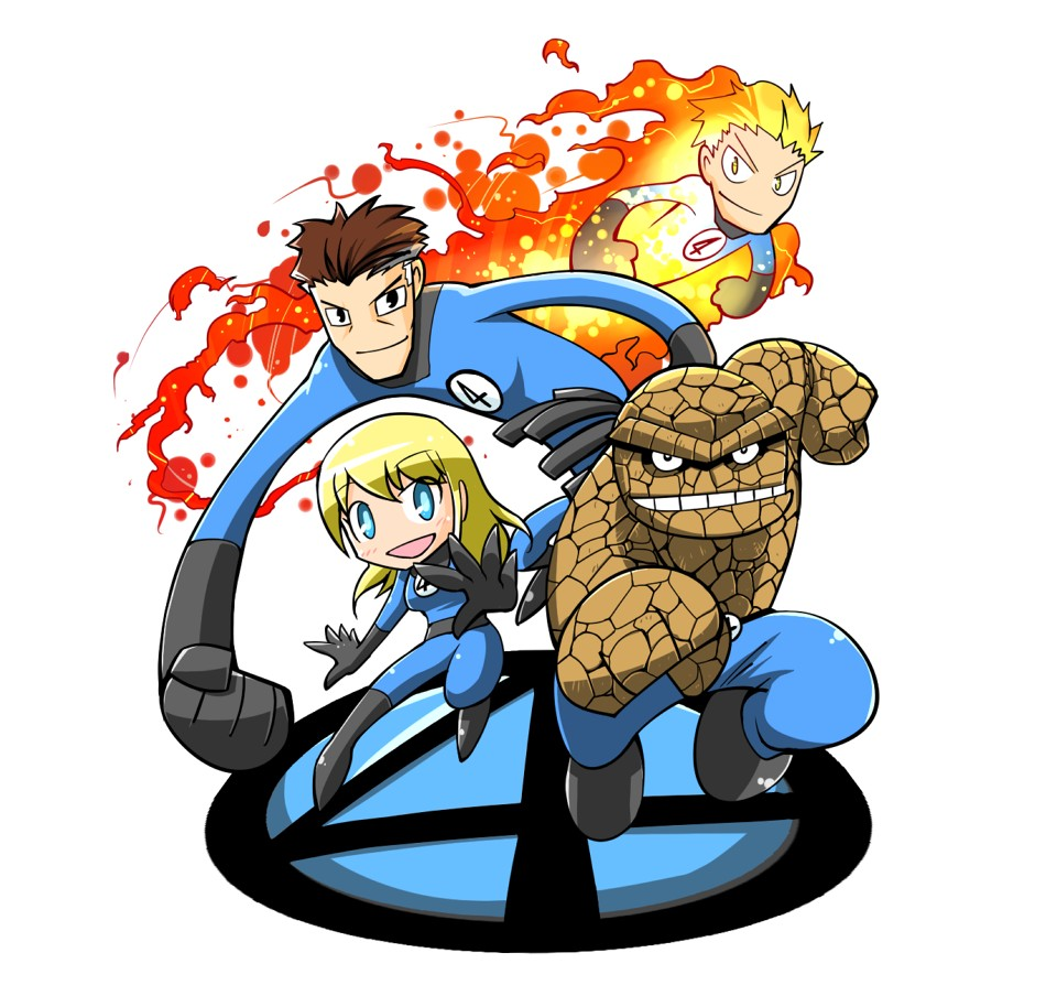 950x904 Fantastic Four Clipart