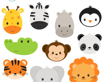 340x270 Farm Animals Clipart Set Farm Barn Farmyard Animals