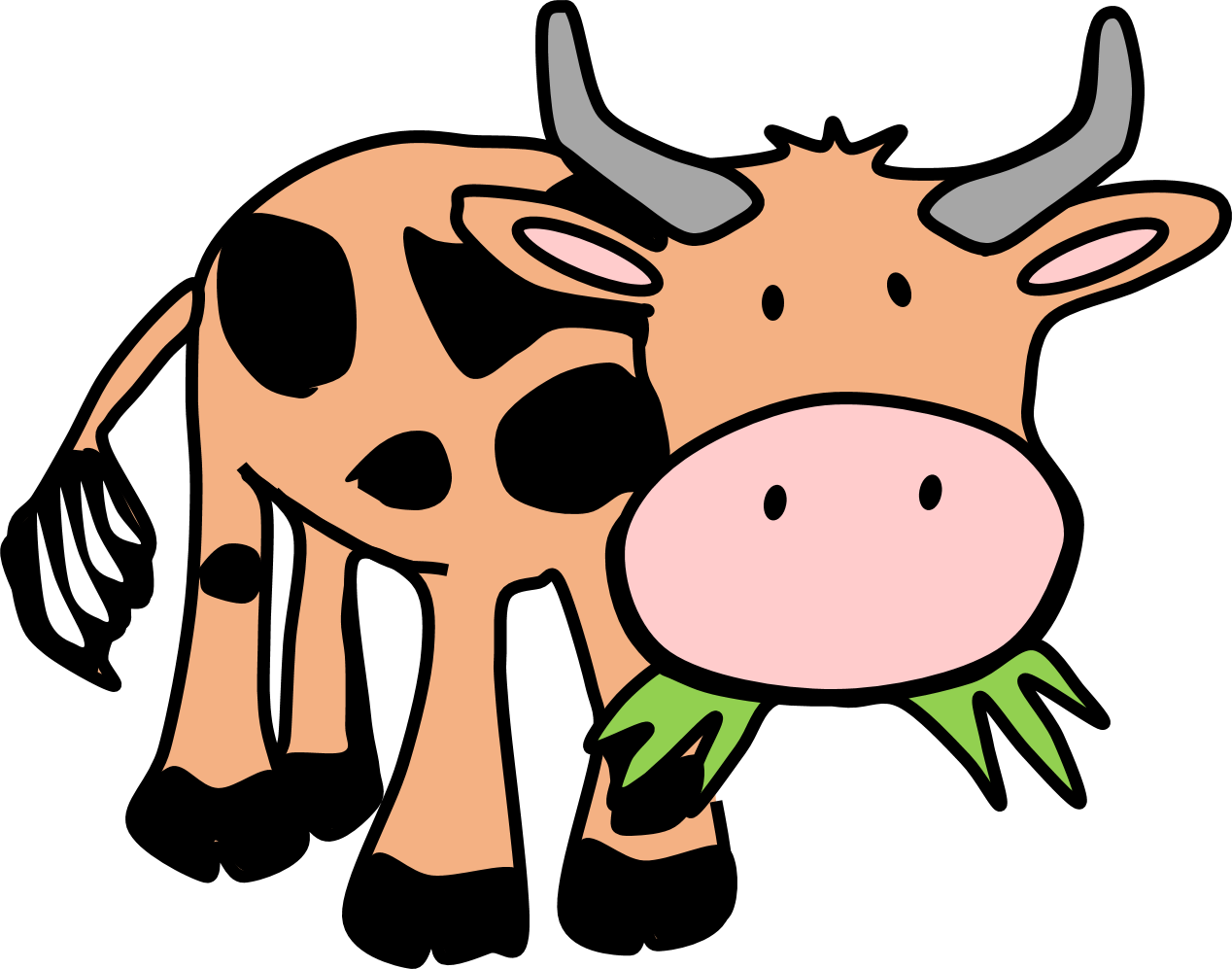 1268x997 Farm Animals Clip Art