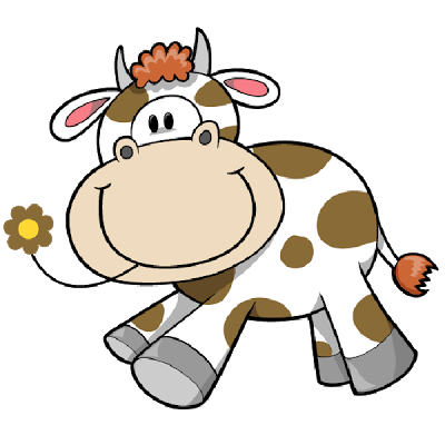 400x400 Cartoon Farm Animal Clipart