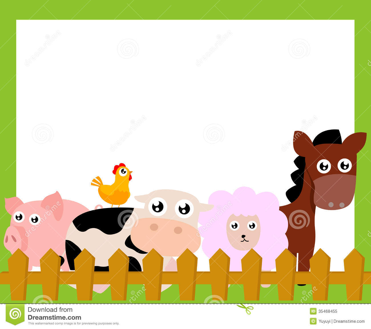1300x1156 Farm Animals Clipart Frame