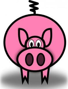 236x307 Cartoon Clipart Free Pig Cartoon Clipart Piggie Bank
