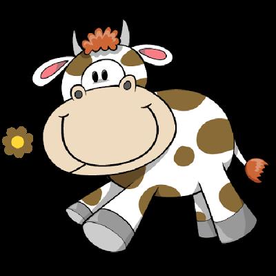 400x400 Cartoon Farm Animal Clipart