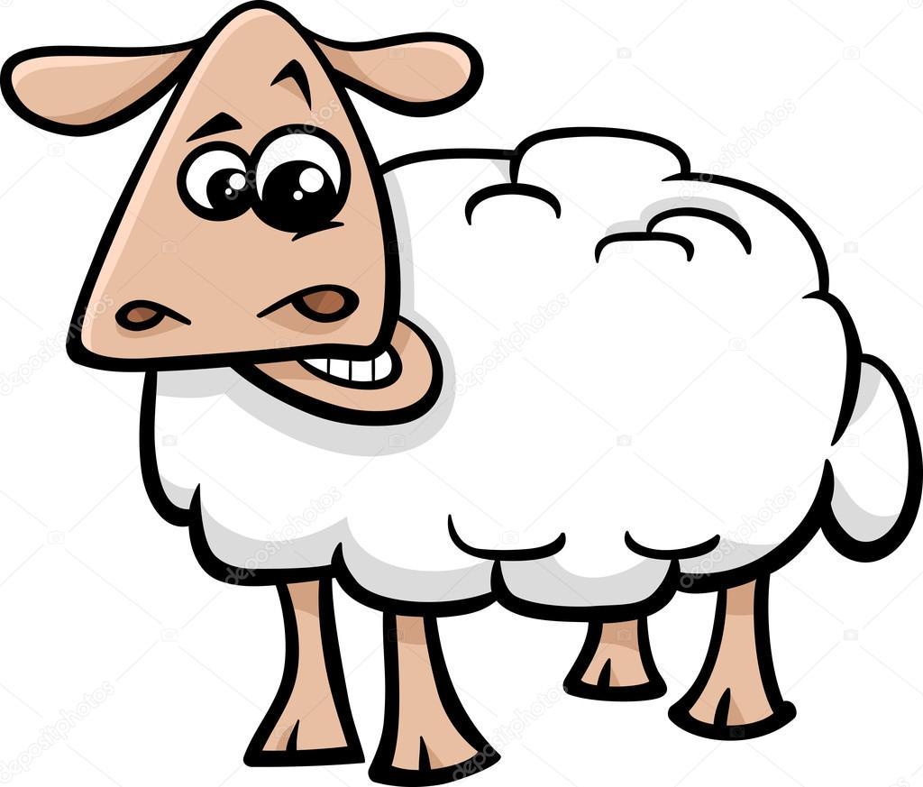 1024x873 Sheep Farm Animal Cartoon Stock Vector Izakowski