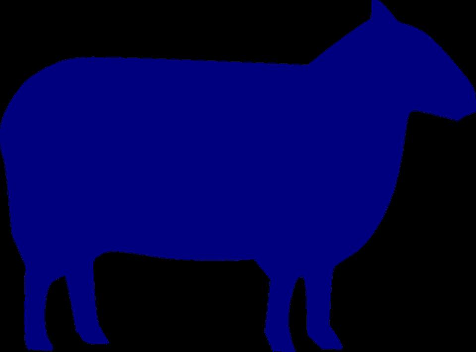 960x711 Farm Animals Clipart Silhouette