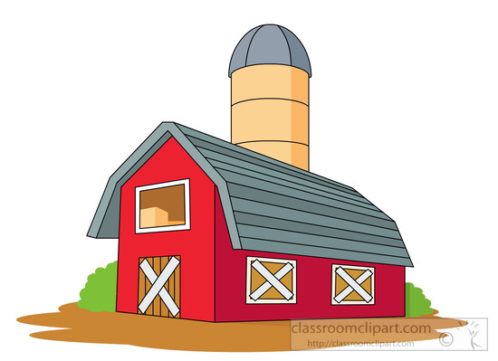 550x399 Farm Barn Clip Art Clipart Image 7