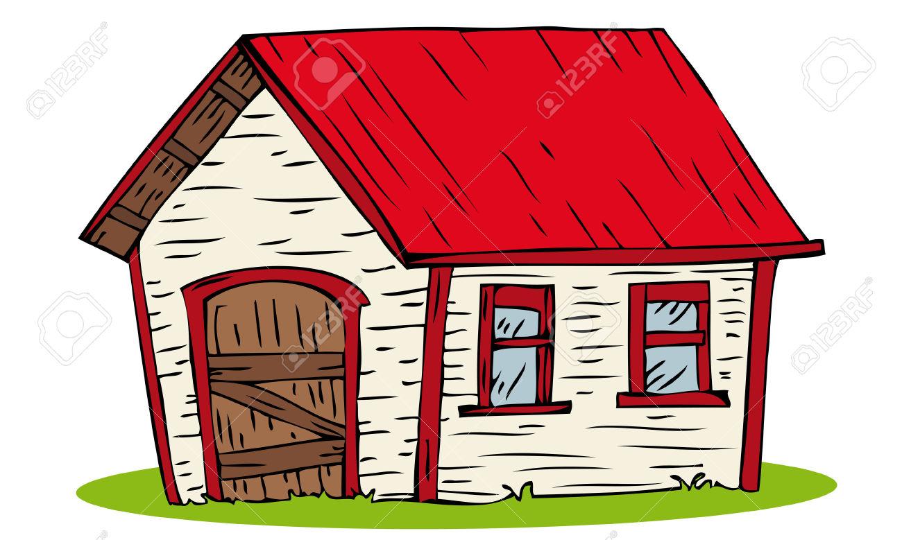 1300x779 Farm Clipart Red Farmhouse