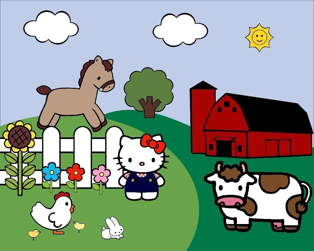 1000x800 Top 95 Farm Clip Art