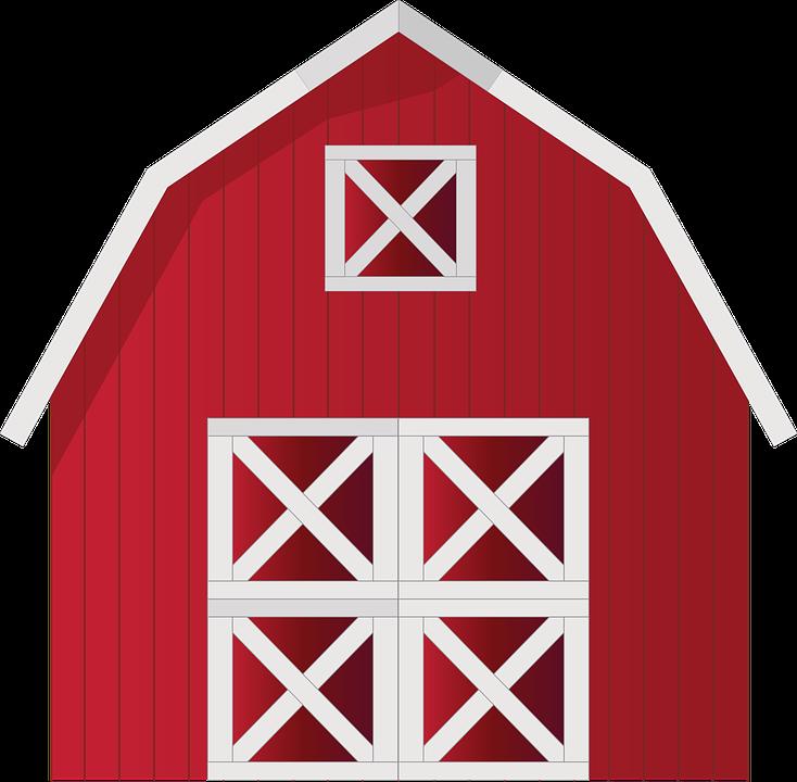 734x720 Barn Clipart Red Farm