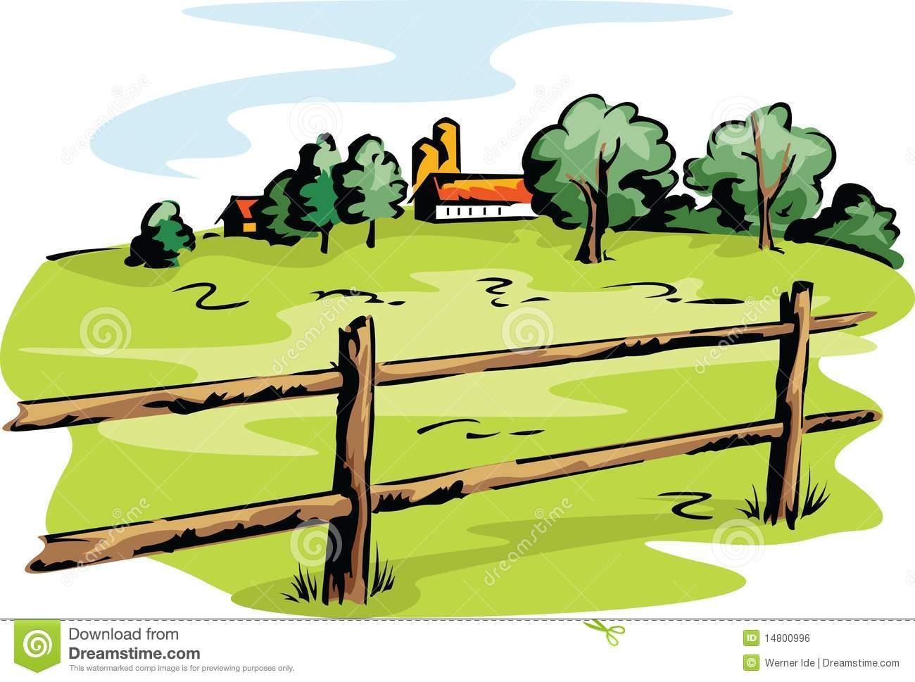 1300x969 Farm Field Clipart