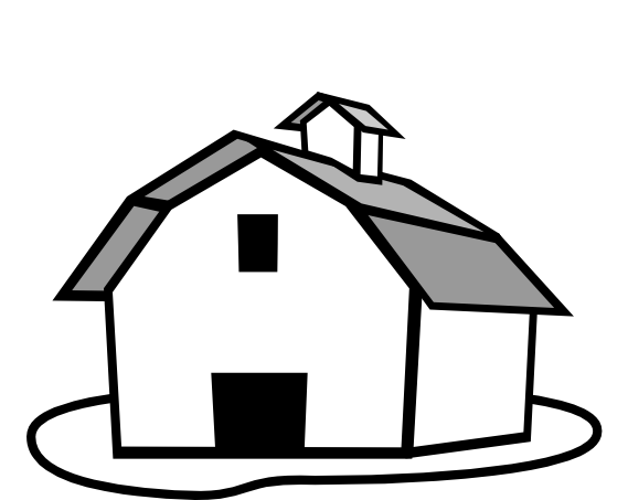 569x453 Farm Clipart Black And White Many Interesting Cliparts
