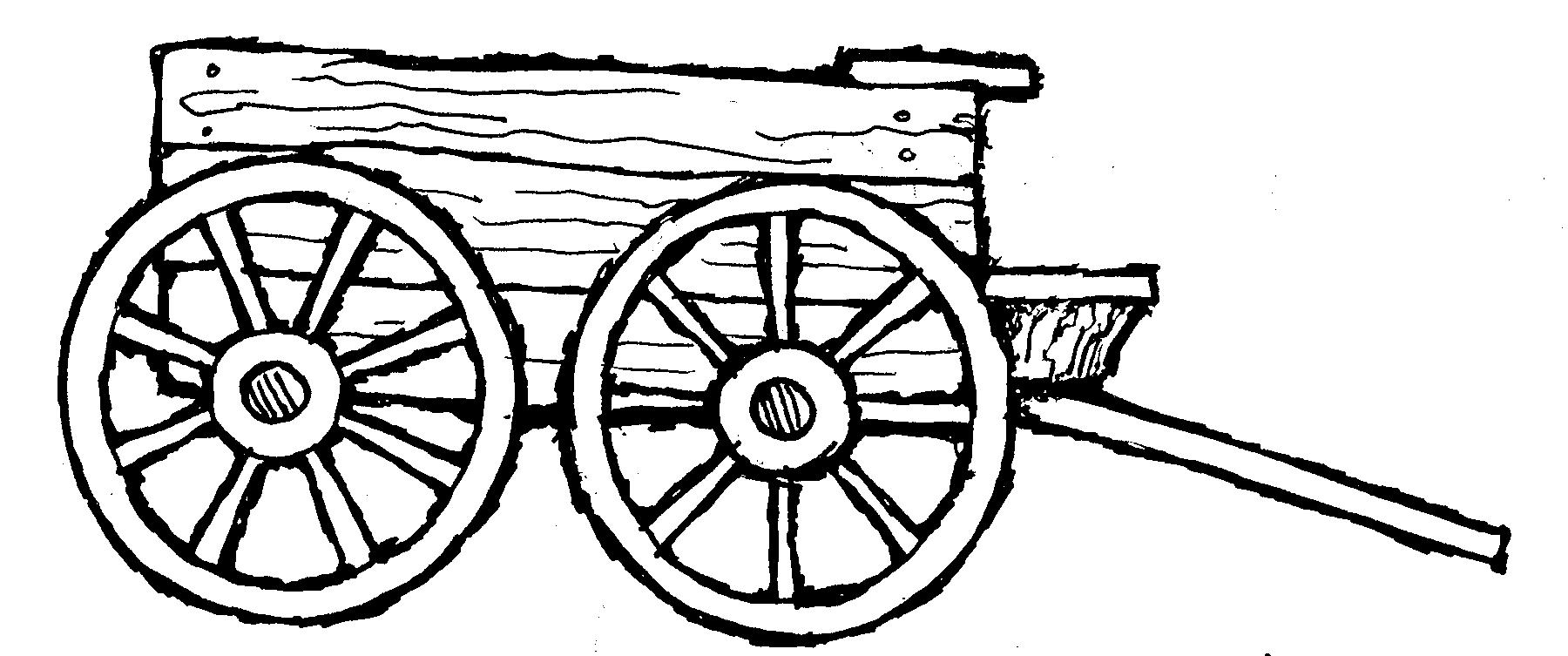 1800x753 Farm Wagon Clipart