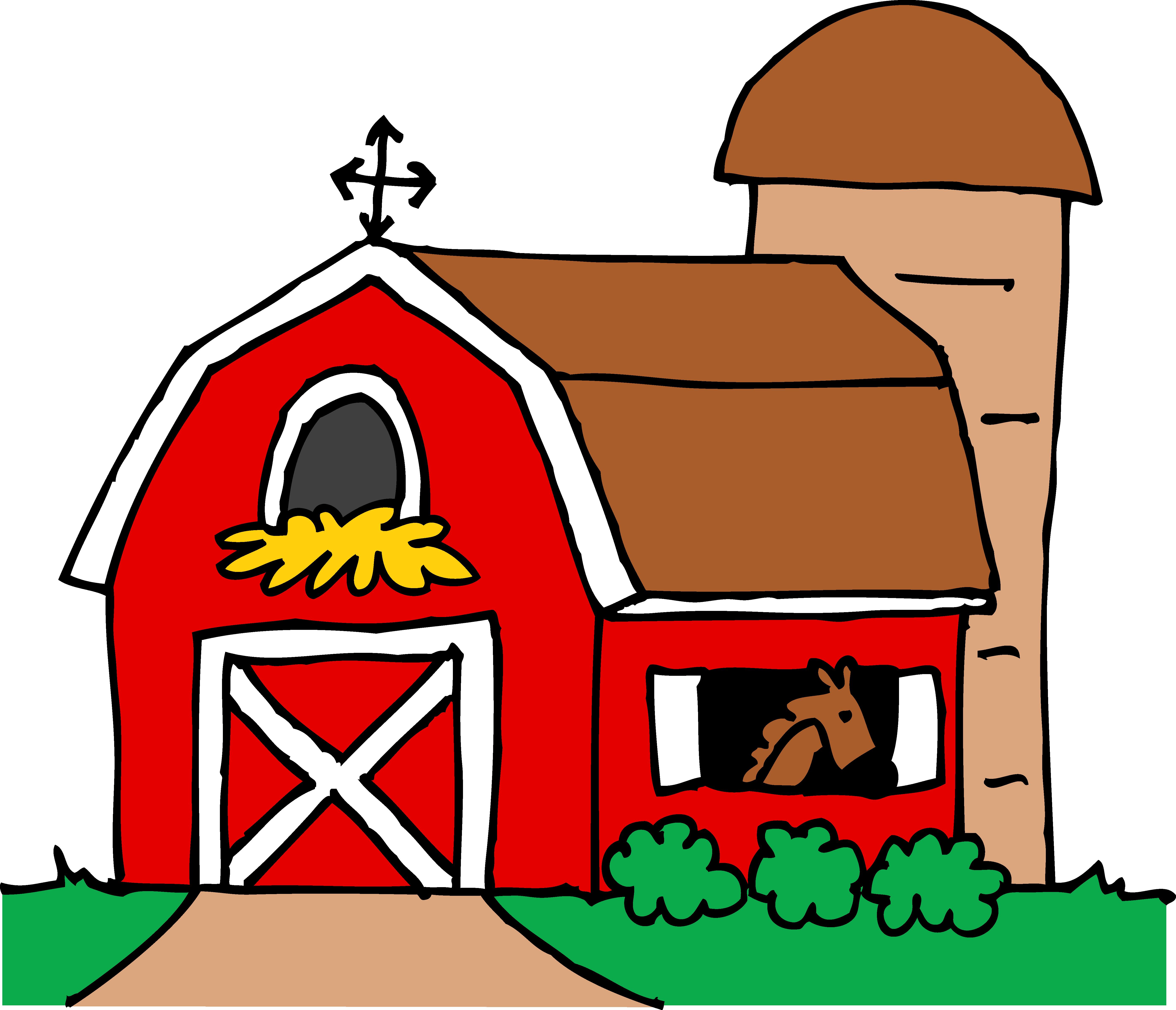 5583x4793 Farm Clipart Barn