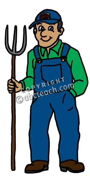 300x600 Farmer Cartoon Farm Animals Clipart Free Clip Art Images Image