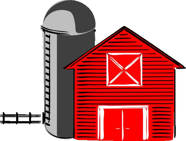 600x455 Traditional Barn V2 Clip Art
