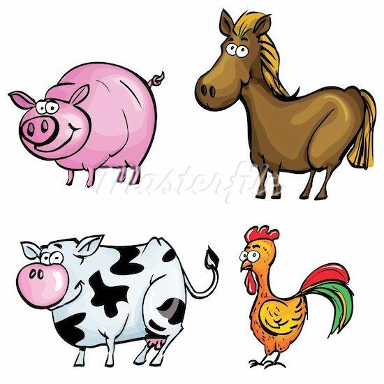 550x550 Farm Animal Clip Art