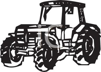 350x249 Free Tractor Clip Art Farm Equipment Clipart Image