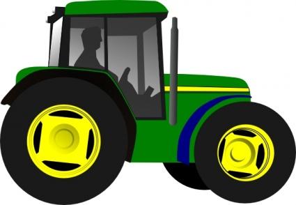 425x294 Green Cartoon Farm Little Free Vehicle Machine Motor Equipment