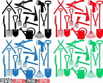 350x284 Tools Clipart Agriculture Farm Equipment Nature Svg Spring Summer