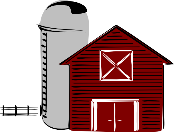 600x457 Barn Clipart Cartoon