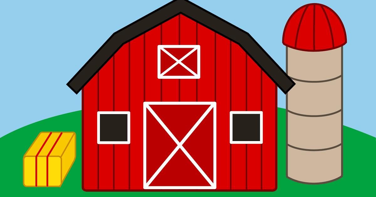 1200x630 Farm Clipart Classroom Scene