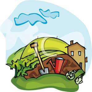 298x300 Farmhouses Clipart