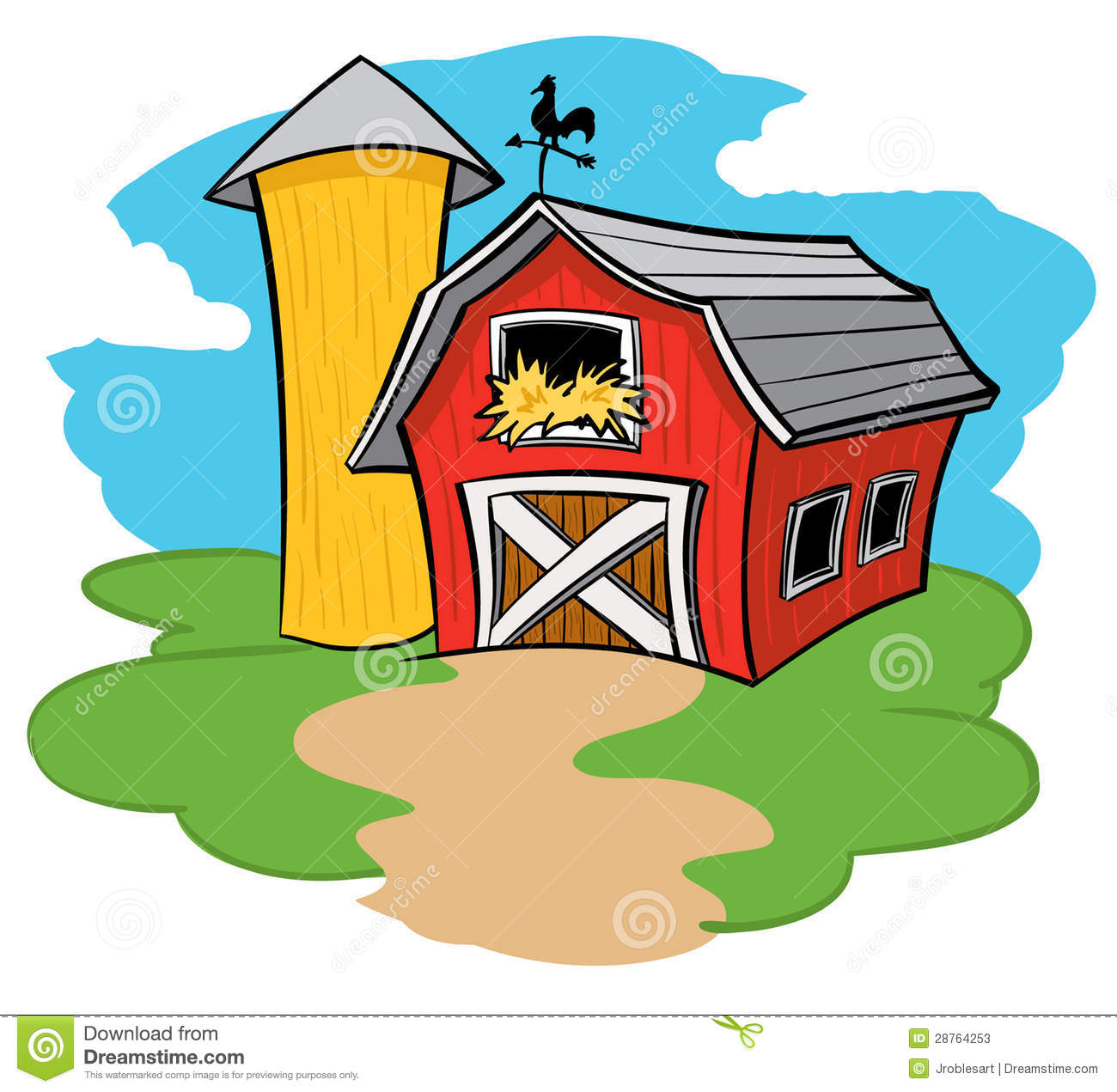 1300x1271 Sunny Clipart Farm