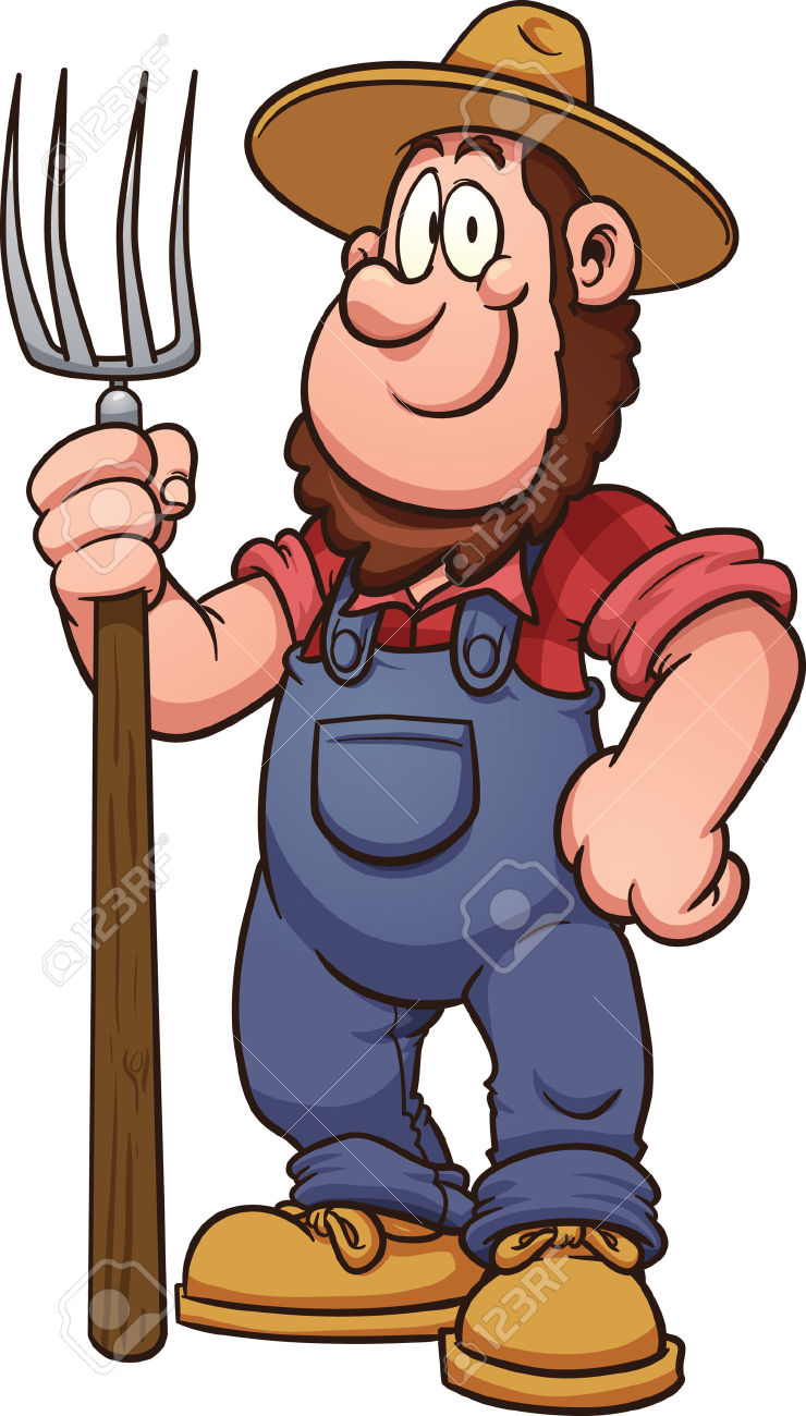 740x1300 Farmer Clip Art Free Free Clipart Images 3 Image