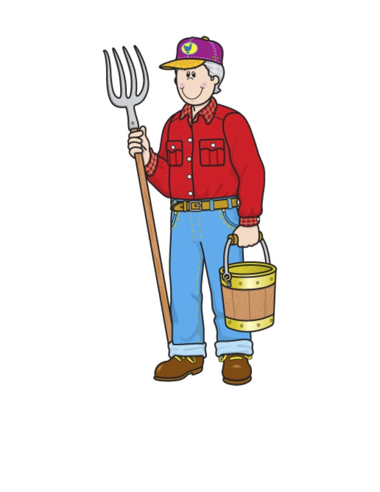 1275x1650 Top Kid Farmer Clipart Library