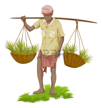 422x450 Indian Farmer Clipart 3 Clipart Station