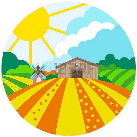 450x450 Field Clipart Agriculture Farming