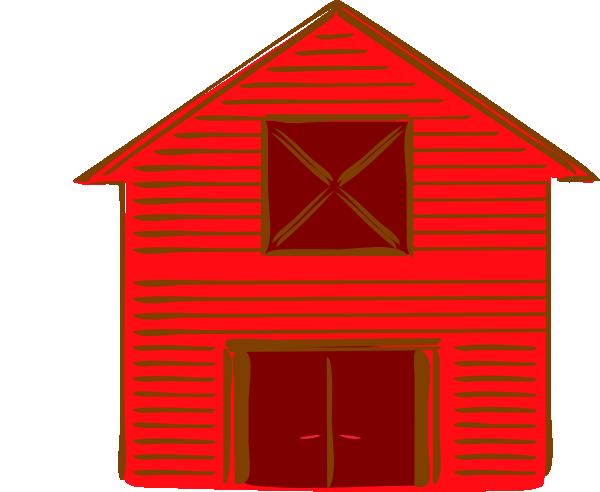 600x492 Farms Red Barn Clip Art
