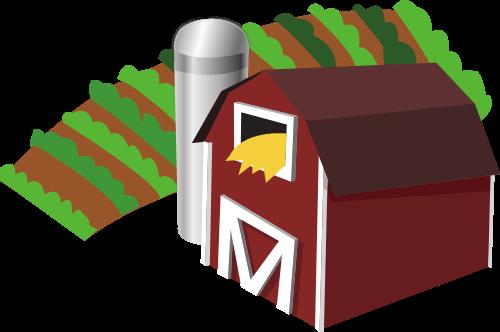 500x332 Filebarn With Farm Clip Art.svg