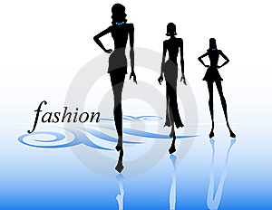 300x232 Fashion Show Clip Art